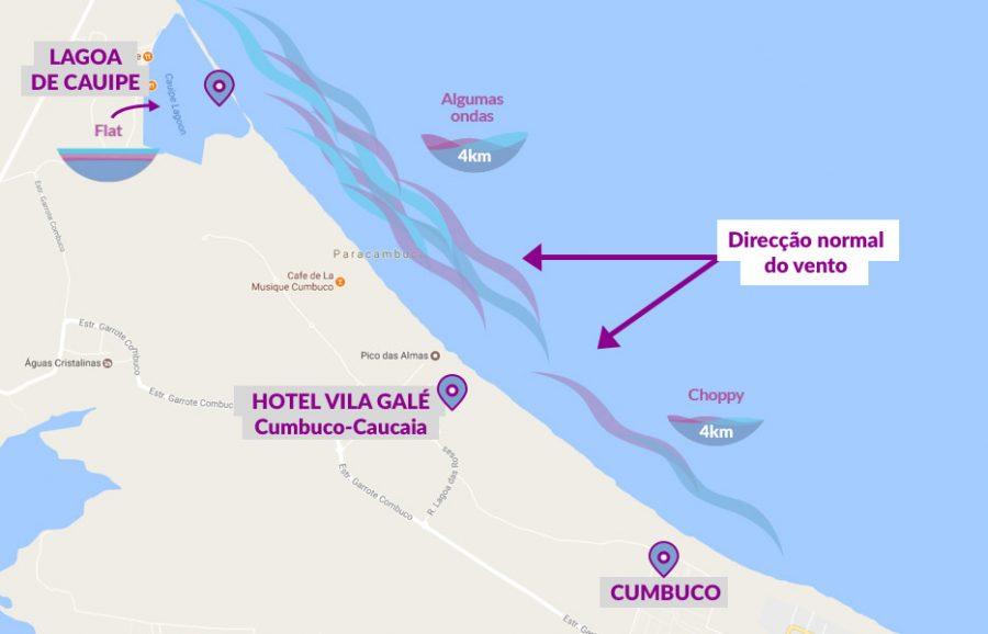 Mapa Cumbuco