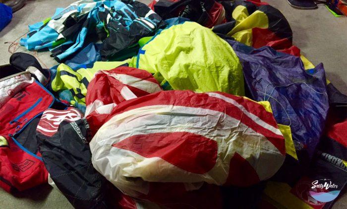 varios kites